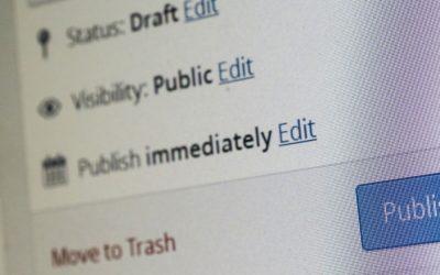 6 zaken om na te lopen voordat je je blog publiceert